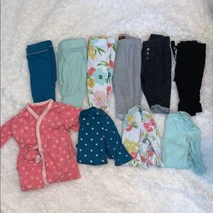 3-6 Months Baby Girl Clothing Bundle
